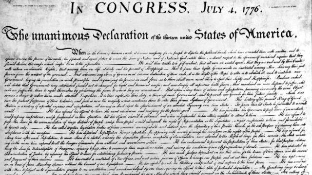 """Facebook zablokował Deklarację Niepodległości.  Uznał ją za """"mowę nienawiści"""""""