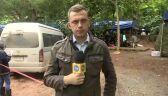 """Śmierć nurka, wraca deszcz. Relacja korespondenta """"Faktów"""" TVN"""