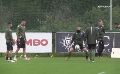 Napoli przygotowuje się do meczu z Genkiem w Lidze Mistrzów