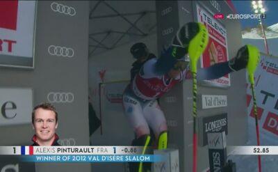 Alexis Pinturault bezkonkurencyjny w slalomie