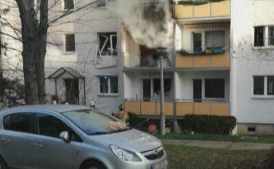 Wybuch w bloku miszkalnym w Blankenburgu. Jedna osoba nie żyje