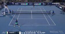 Monfils pokonany, Fognini w finale Diriyah Tennis Cup