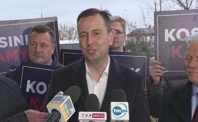 Kosiniak-Kamysz wezwał Kidawę-Błońską do debaty przedwyborczej