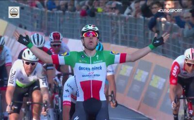 Viviani wygrał 3. etap Tirreno - Adriatico