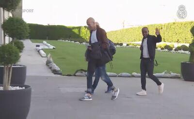Zidane wrócił do ośrodka treningowego Realu Madryt