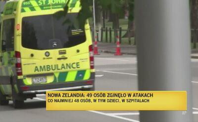 Gorazdowski: Nowozelandzka policja działa sprawnie i w sposób wyważony