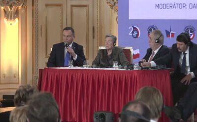 Andrzej Duda o działaniach Rosji wobec NATO