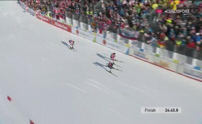 Riiber wygrał zawody kombinacji norweskiej, Kupczak 18.