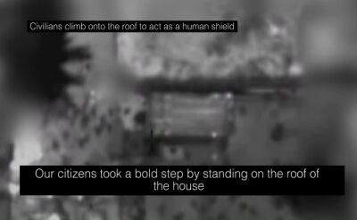 IDF: Hamas używa ludzi jako żywych tarcz