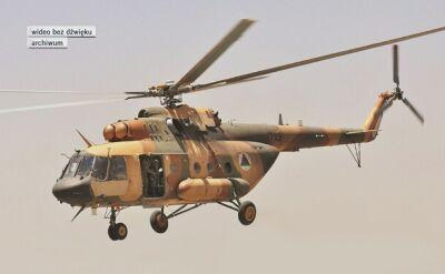 Helikopter rozbił się w Afganistanie