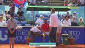 Damir Dzumhur skreczował w meczu z Thiemem w Adria Tour