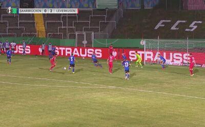 Półfinał Pucharu Niemiec. Skrót meczu Saarbruecken - Bayer 04 Leverkusen
