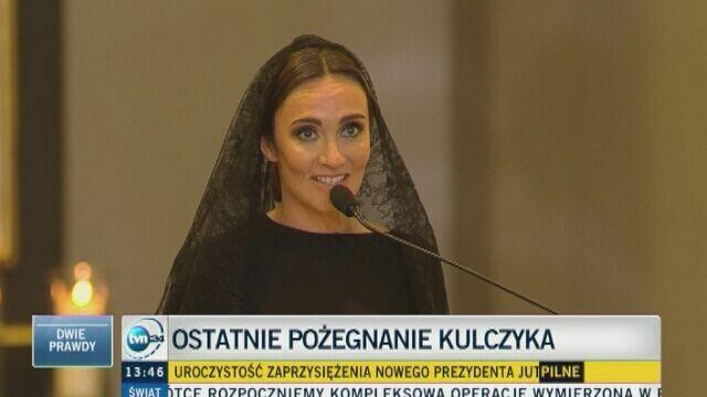 Dominika Kulczyk żegna swojego ojca