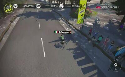 Michael Woods wygrał 5. etap wirtualnego Tour de France