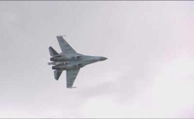 Pokaz myśliwców Su-35 w rosyjskim Żukowskim (wideo z 2015 roku)