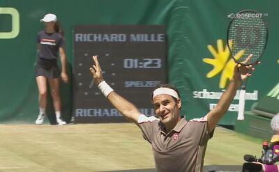 Dziesiąty tytuł Rogera Federera w Halle