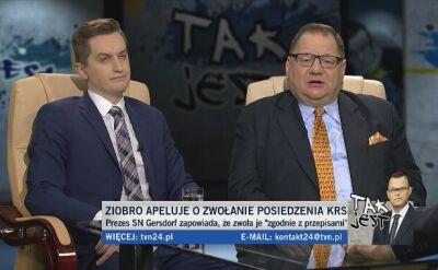 Sebastian Kaleta i Ryszard Kalisz w Tak Jest