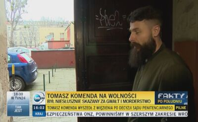 Tomasz Komenda wrócił do domu