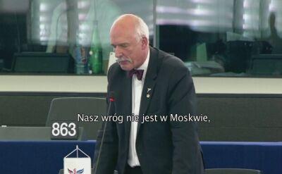 Korwin-Mikke o muzułmanach: nie wygramy wojny, kiedy oni nas zabijają, a my nie możemy ich zabić