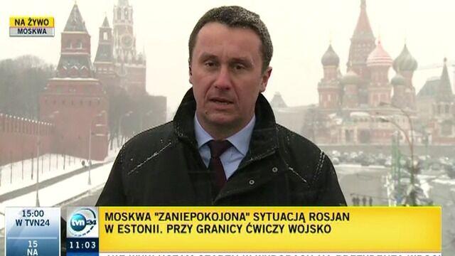 Moskwa zaniepokojona traktowaniem Rosjan w Estonii