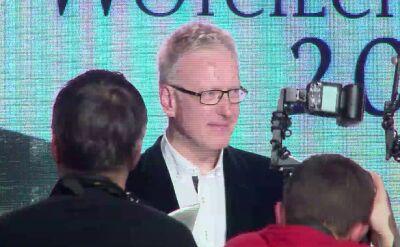 Mariusz Szczygieł z Nagrodą im. Woyciechowskiego