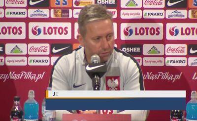 Brzęczek: Austria to bardzo dobra drużyna