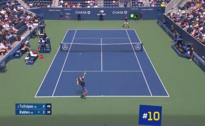 Najbardziej spektakularne pudła US Open 2019