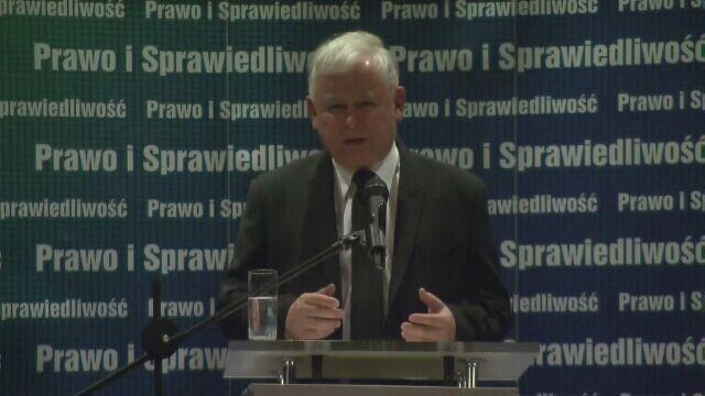 Przemówienie Jarosława Kaczyńskiego w kinie Wisła. Część 2