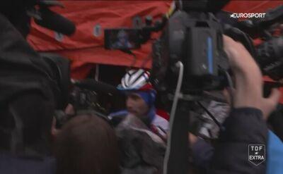 Thibaut Pinot po 15. etapie Tour de France