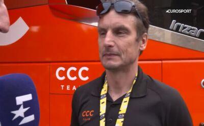 Wadecki przed 15. etapem Tour de France