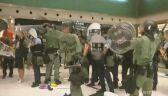 Starcia z policją w Hongkongu rozpoczęły się na ulicy, a skończyły w centrum handlowym