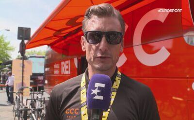 Piotr Wadecki przewiduje scenariusz 11. etapu