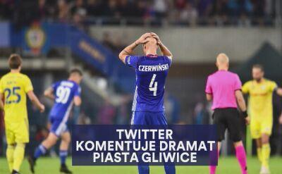 Krajobraz po bitwie. Twitter komentuje dramat Piasta Gliwice