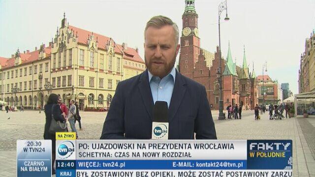 """""""Nie zna miasta, nie ma planu"""", """"trochę się PO pogubiła"""". Dolnośląscy politycy o kandydaturze Ujazdowskiego"""