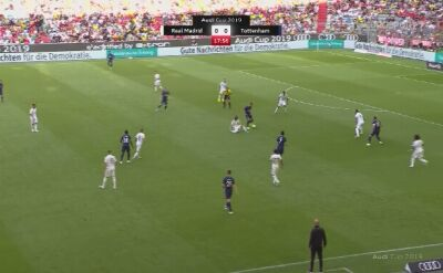 Tottenham pokonał Real w półfinale Audi Cup