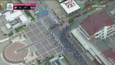 Jeszcze jeden wypadek w końcówce 5. etapu Giro d'Italia
