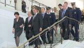 Premier wchodzi do Sejmu