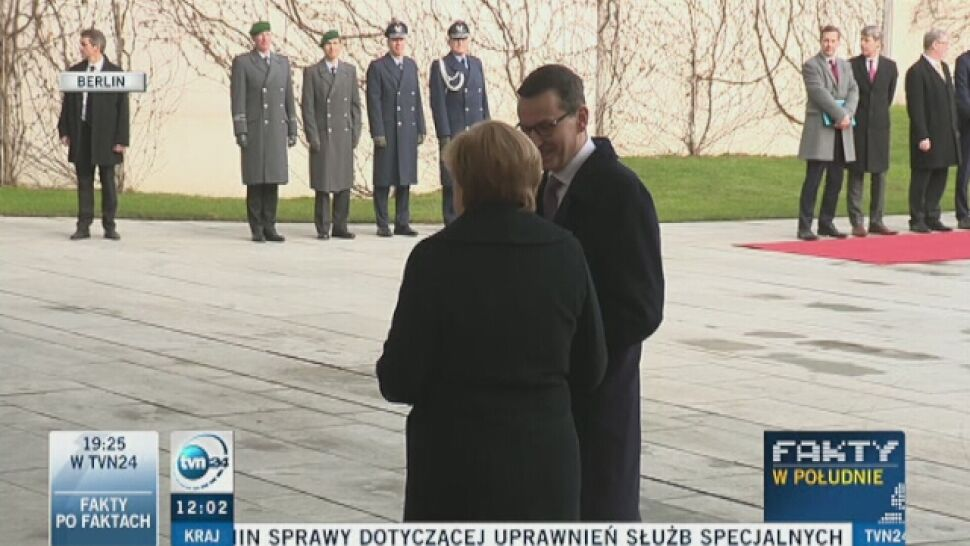 PAP: Morawiecki pojedzie do Merkel