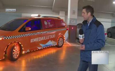 Holenderska taksówka dla medalistów