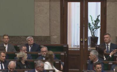 Na ślubowaniu posłów w Sejmie nie pojawiła się Aleksandra Gajewska