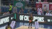 Skrót meczu Anwil Włocławek - Telenet Giants w 5. kolejce Ligi Mistrzów