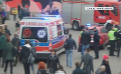 Three people injured after escalator sped up at a station in central Warsaw