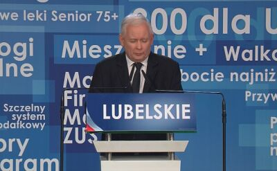 Kaczyński: stare układy albo dobra zmiana