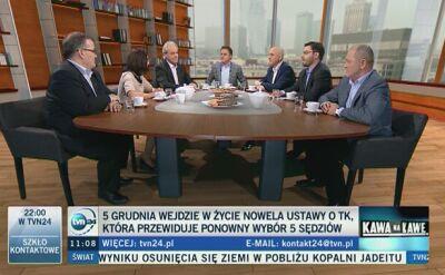 """Spór o nowelizację ustawy o TK. """"Zamach na Trybunał"""", """"Te zmiany to normalizacja"""""""