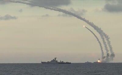 Rosjanie ostrzelali Syrię z Morza Kaspijskiego