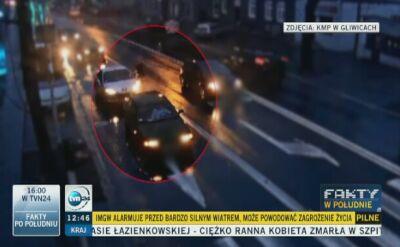 Gliwice: obywatelskie zatrzymanie pijanego kierowcy