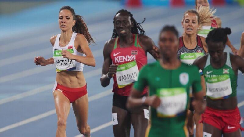 Joanna Jóźwik zajęła piąte miejsce w finale olimpijskim biegu na 800