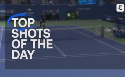Top 5 najlepszych zagrań ósmego dnia turnieju US Open