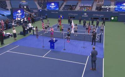 Naomi Osaka po zwycięskim finale US Open 2020