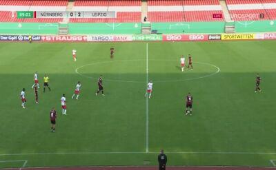 Puchar Niemiec. Norymberga - Lipsk. Gol Hee Chan Hwang (0:3)